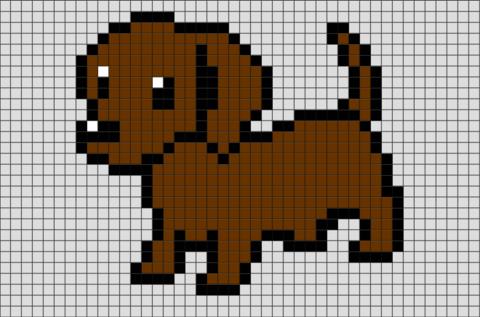 Pixel Art Animaux