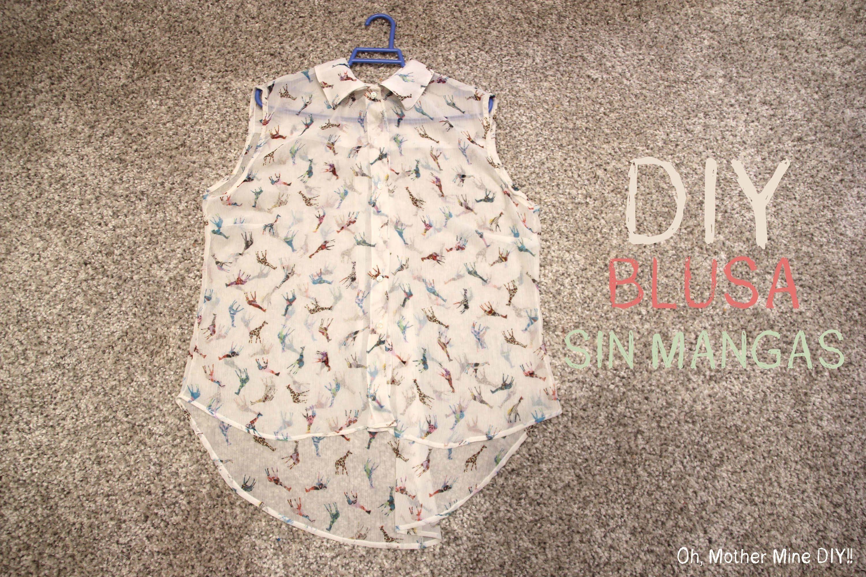 DIY Cómo hacer una blusa básica (patrones de camisa gratis ...