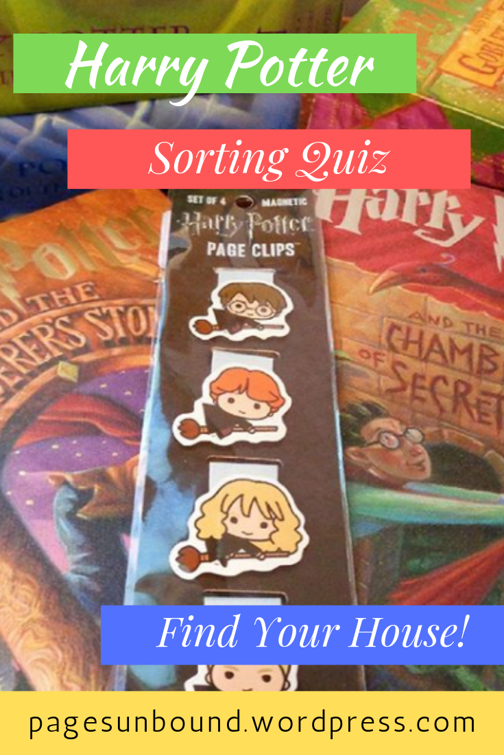 Wizarding School Adventure The Sorting Hat A Personality Quiz Sorting Quiz Harry Potter House Sorting Book Blogger