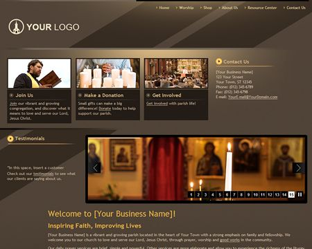 Event Website Templates. Funeral HomesEvent ...