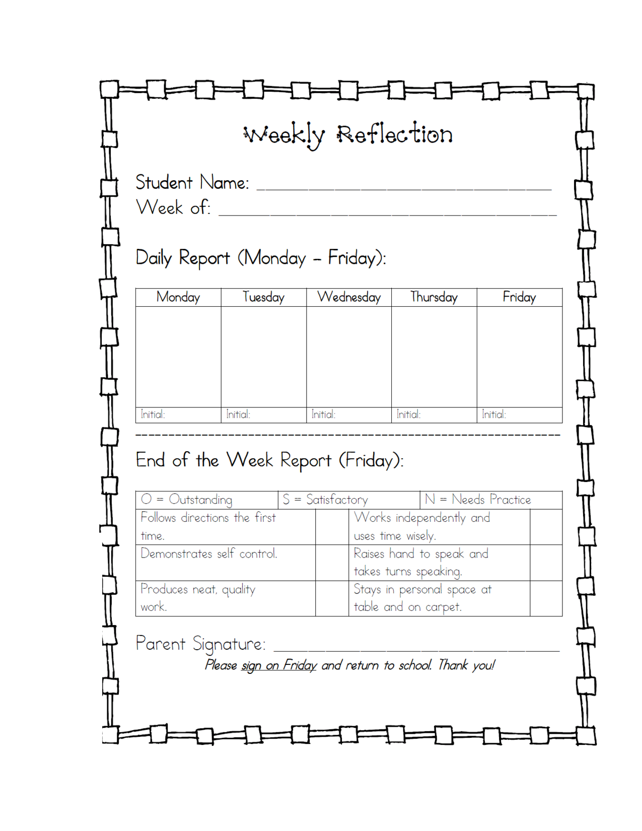 student behavior reflection sheet google search behavior managment pinterest behavior. Black Bedroom Furniture Sets. Home Design Ideas