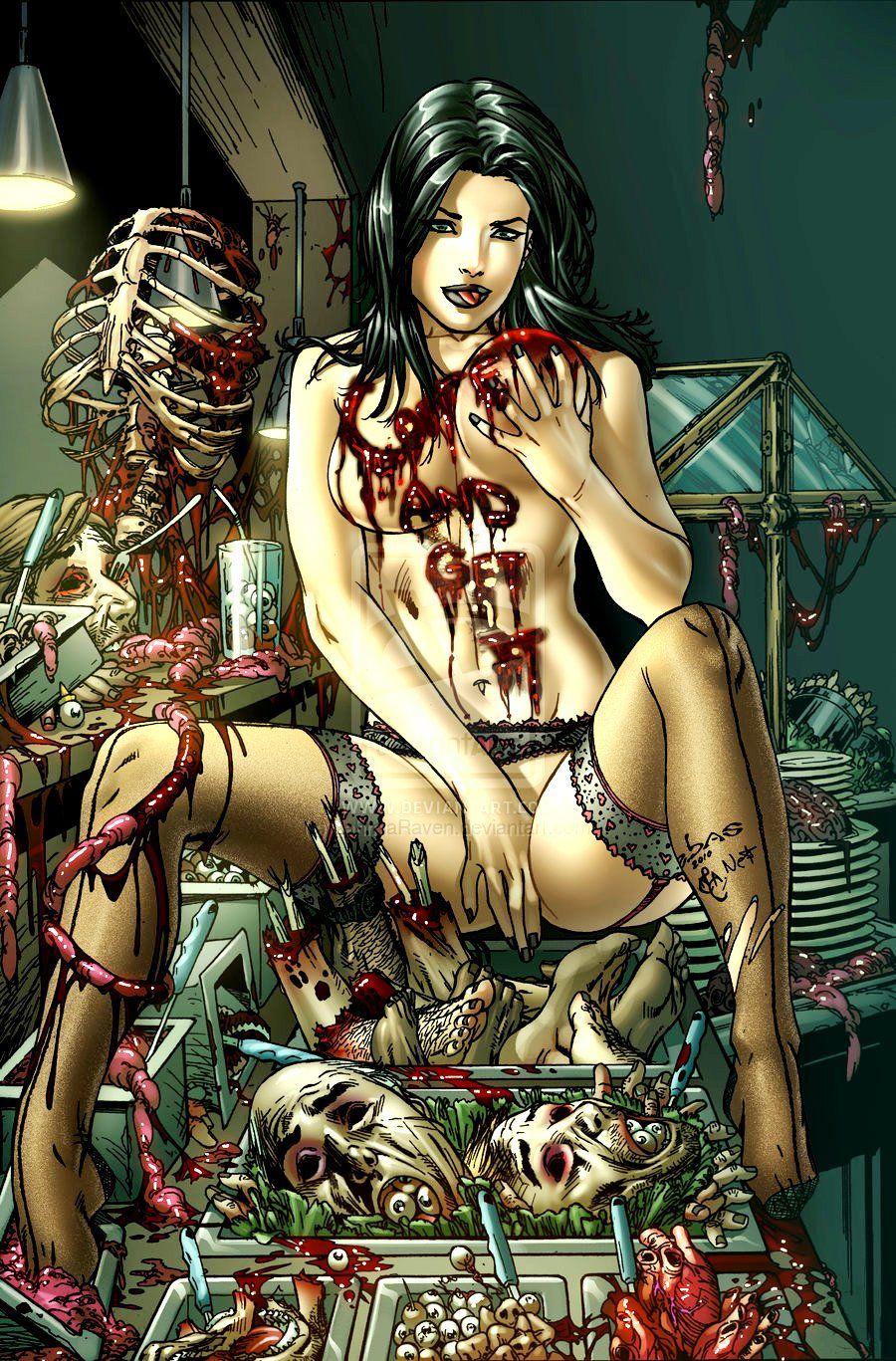 undressed girl pic during bleeding
