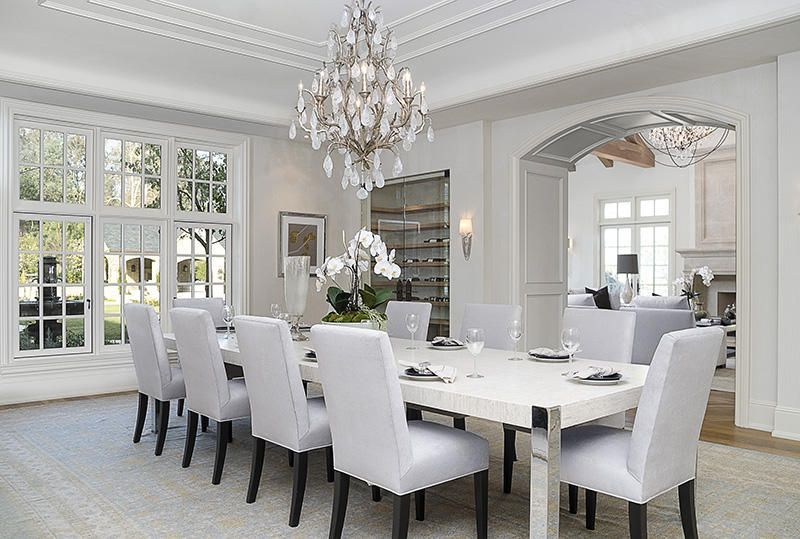 Photos: Kim Kardashian And Kanye Westu0027s New Home   Dining Room