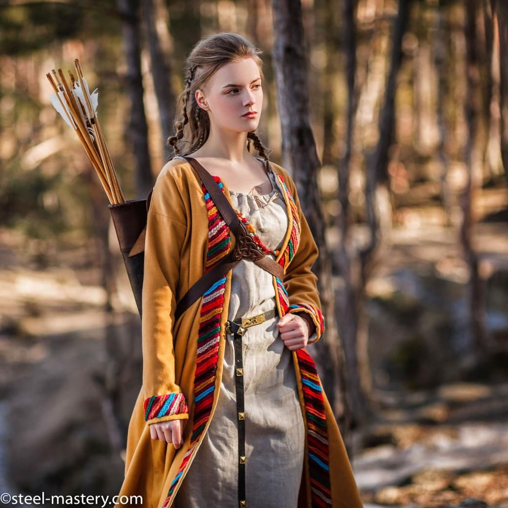 Scandinavian Viking Outfit Sigyn Style In 2020 Viking Clothing Style Outfits