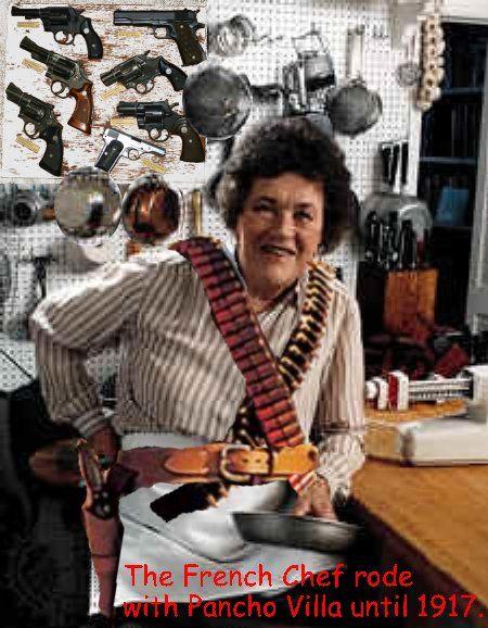 When Dan Akroyd cut the dickins outta himself, I loved it, now Julias got weapons lol!