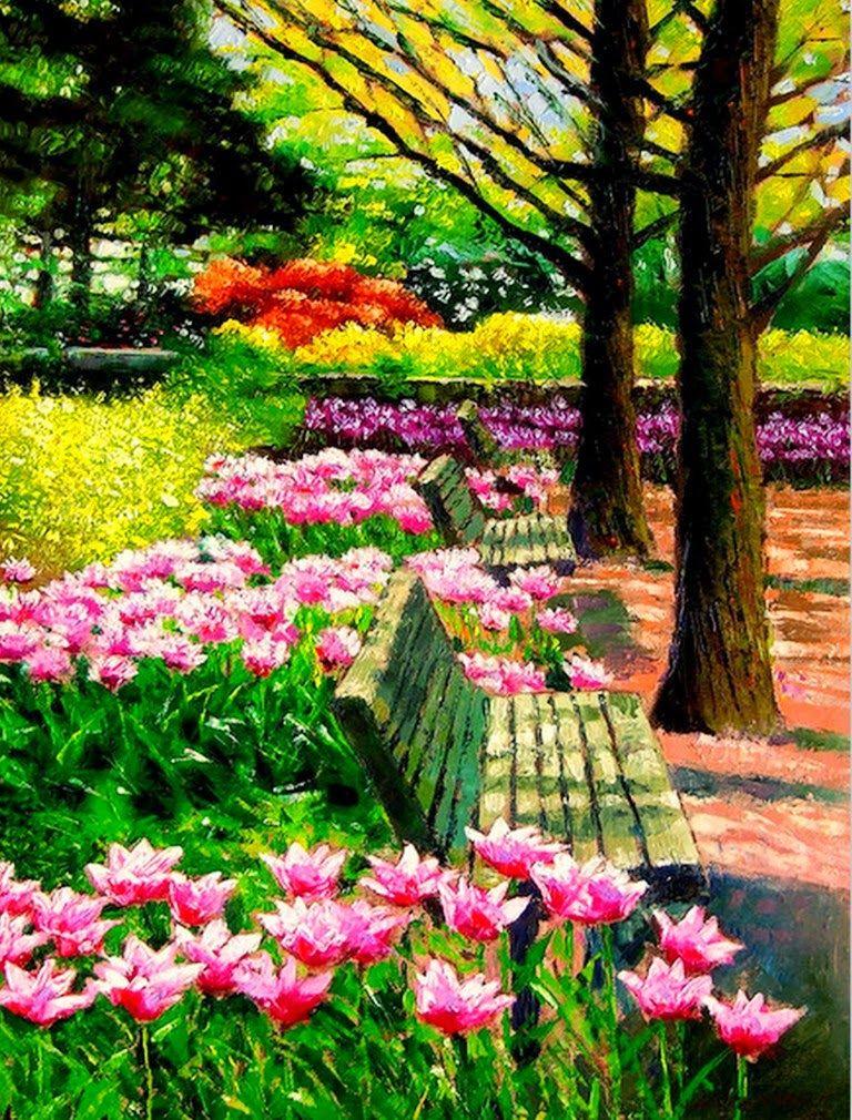 Hermosa primavera primavera pinterest primavera y for Jardines de primavera