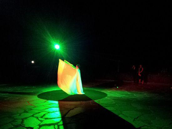 Dancer Alexa Weir at the Ball of Artists