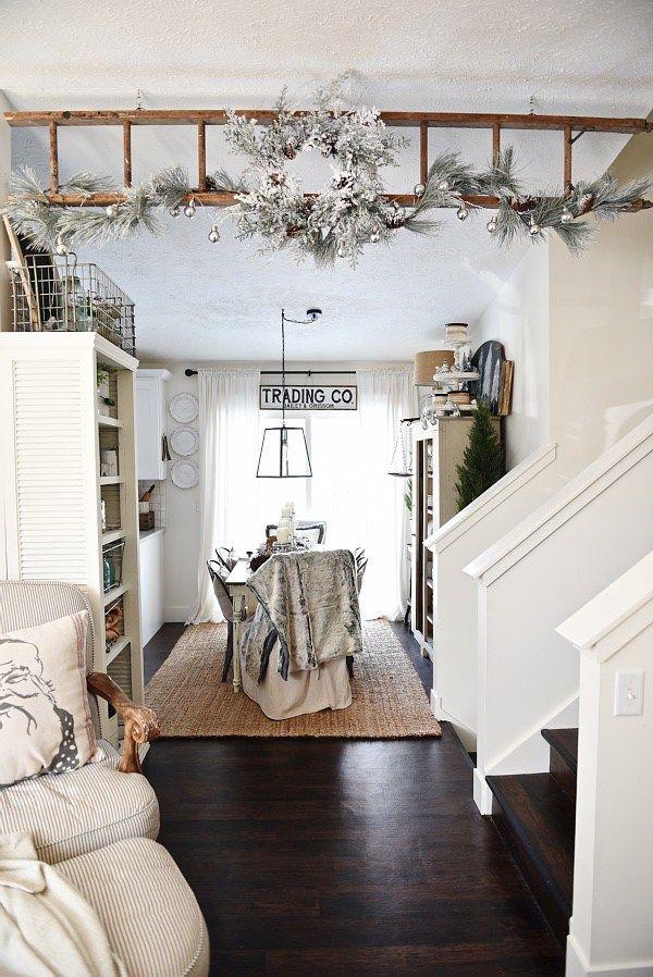 Christmas Ladder Home Decor Contemporary