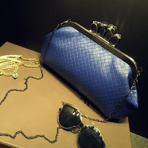 Woven Ring Chain Handbag 3 Colors