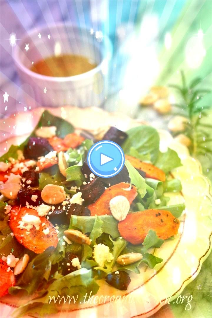 Beet and Carrot Salad with Lemon White Balsamic Vinaigrette  Light Lunches and salads Roasted Beet and Carrot Salad with Lemon White Balsamic Vinaigrette  Light Lunches a...