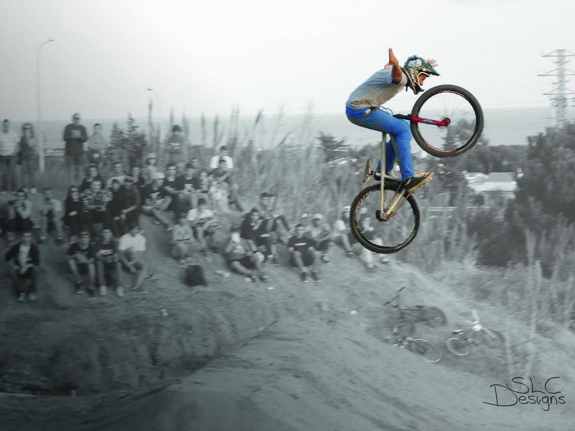 Rider Tomas Lemoine Trick No Hands Competition Happy Ride