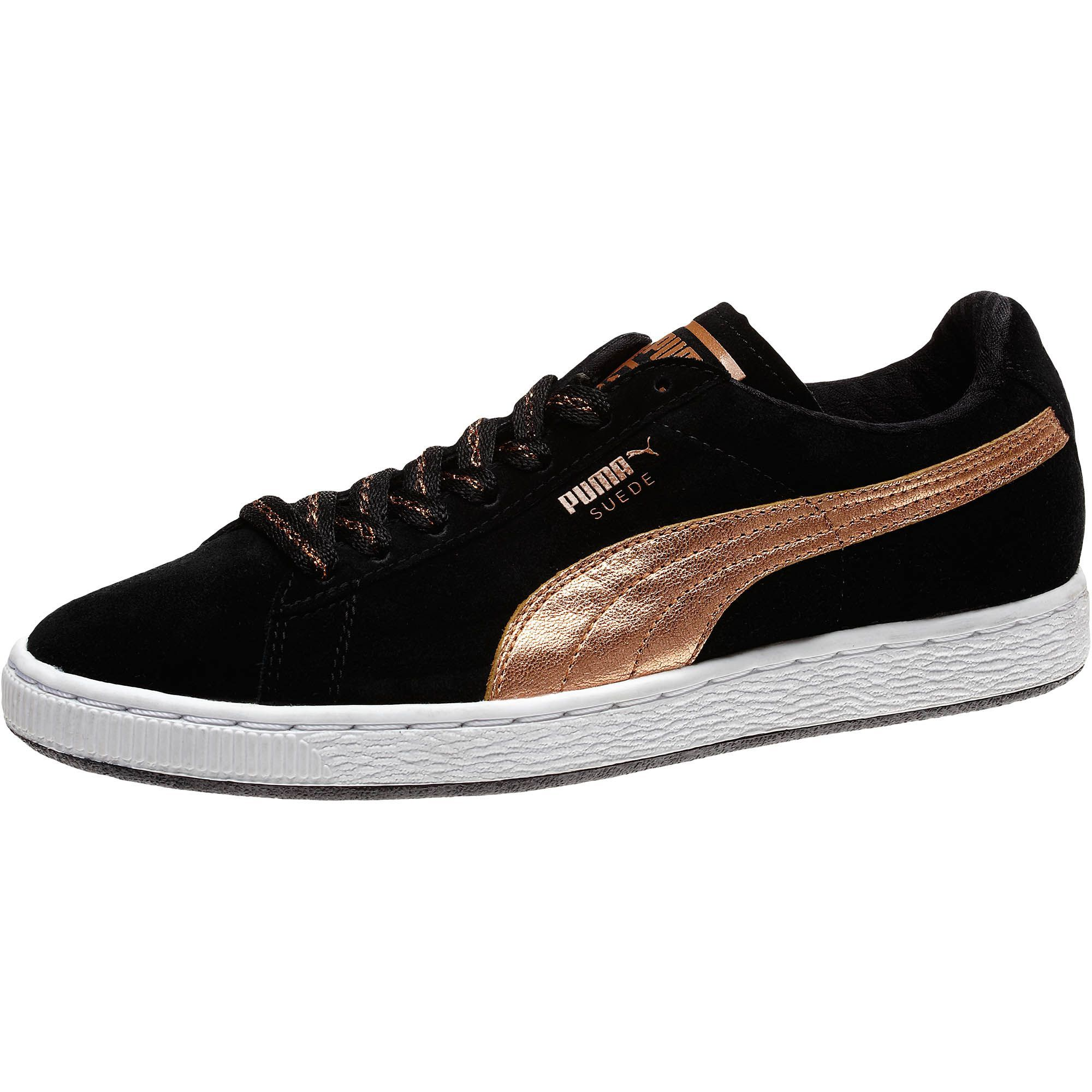 PUMA Suede Classic Rose Gold Womens Sneakers from the official Puma Online Store