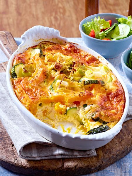 Photo of Pumpkin and courgette bake