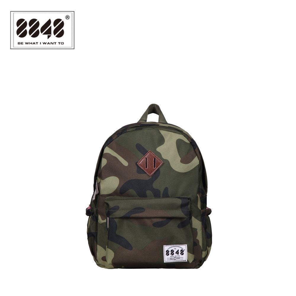 8848 Free Shipping Classical Camouflage Cool Backpacks School Bags ...