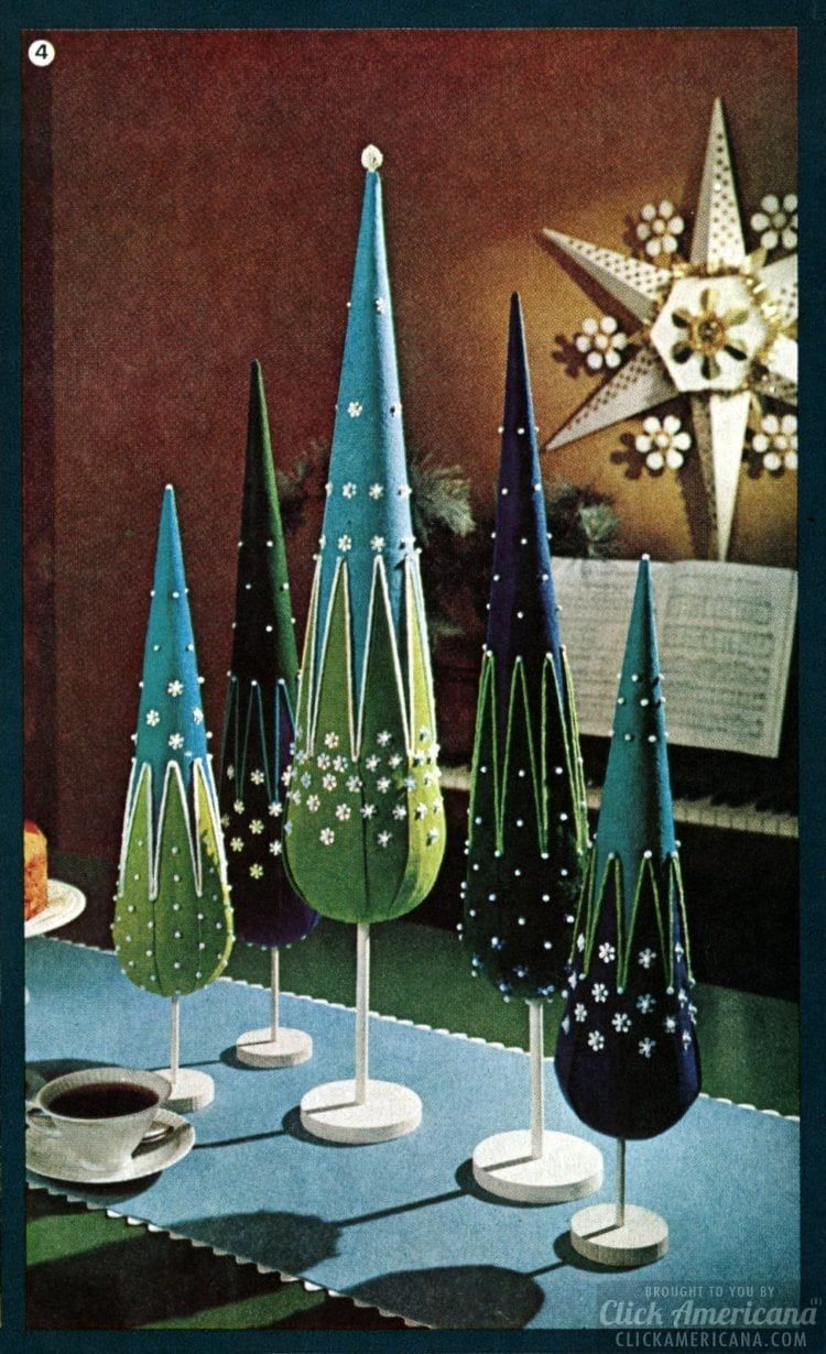 Photo of Have a crafty Christmas! Retro holiday decor you can make with ideas from the '60s