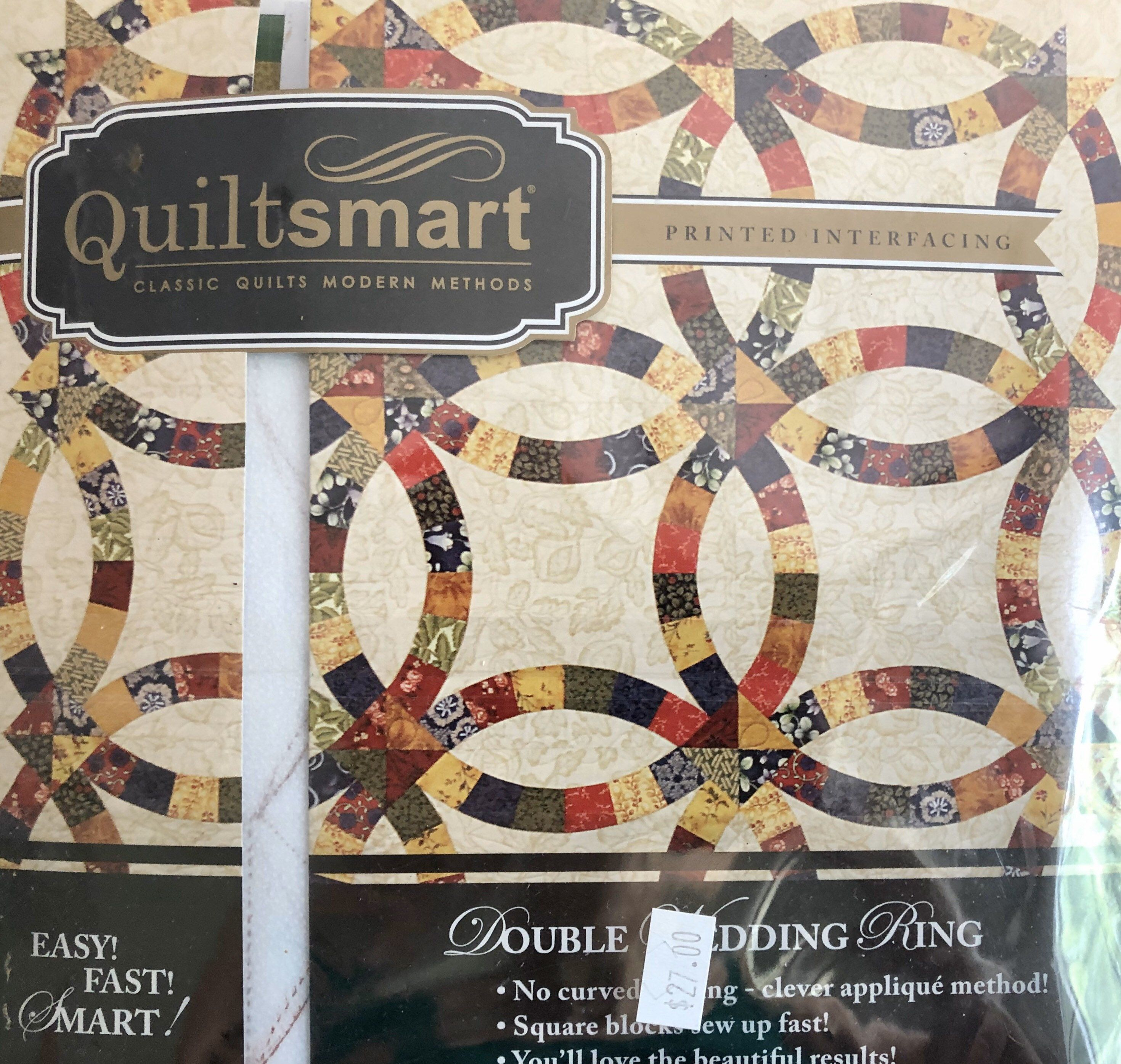 Quiltsmart Double Wedding Ring Interfacing In 2020 Double Wedding Double Wedding Rings Double Wedding Ring Quilt