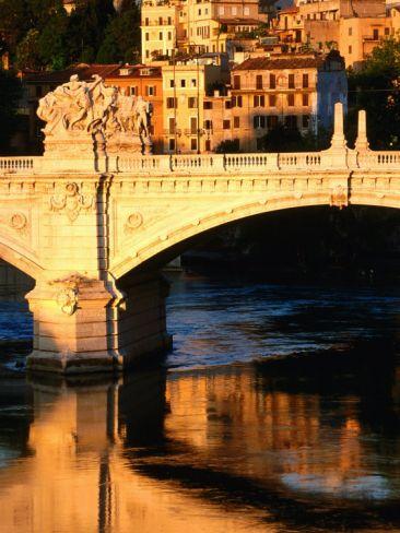 Ponte Vittorio Emanuele II, Rome...
