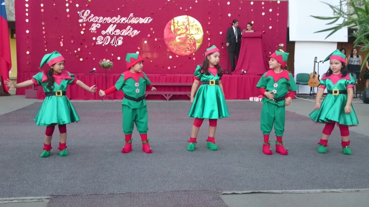 Baile Navideno Prekinder Heandel Christmas Dance Kids Dance Christmas Song