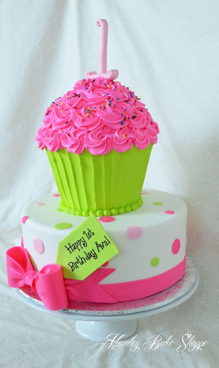 giant cupcake liner template - cupcake cake beautiful cakes cupcakes pinterest