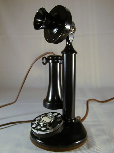 Wanted Antique Vintage old telephones, White mountian Ice