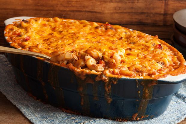 Beefy Macaroni Casserole Recipe Recipe Macaroni Casserole Food Recipes
