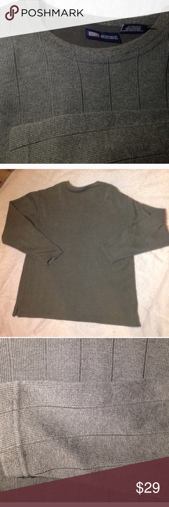 Men's size large green pullover sweatshirt Faded glory men's size large green pullover sweatshirt similar to the better sweater weave. Excellent condition super comfortable never worn Faded Glory Shirts Sweatshirts & Hoodies