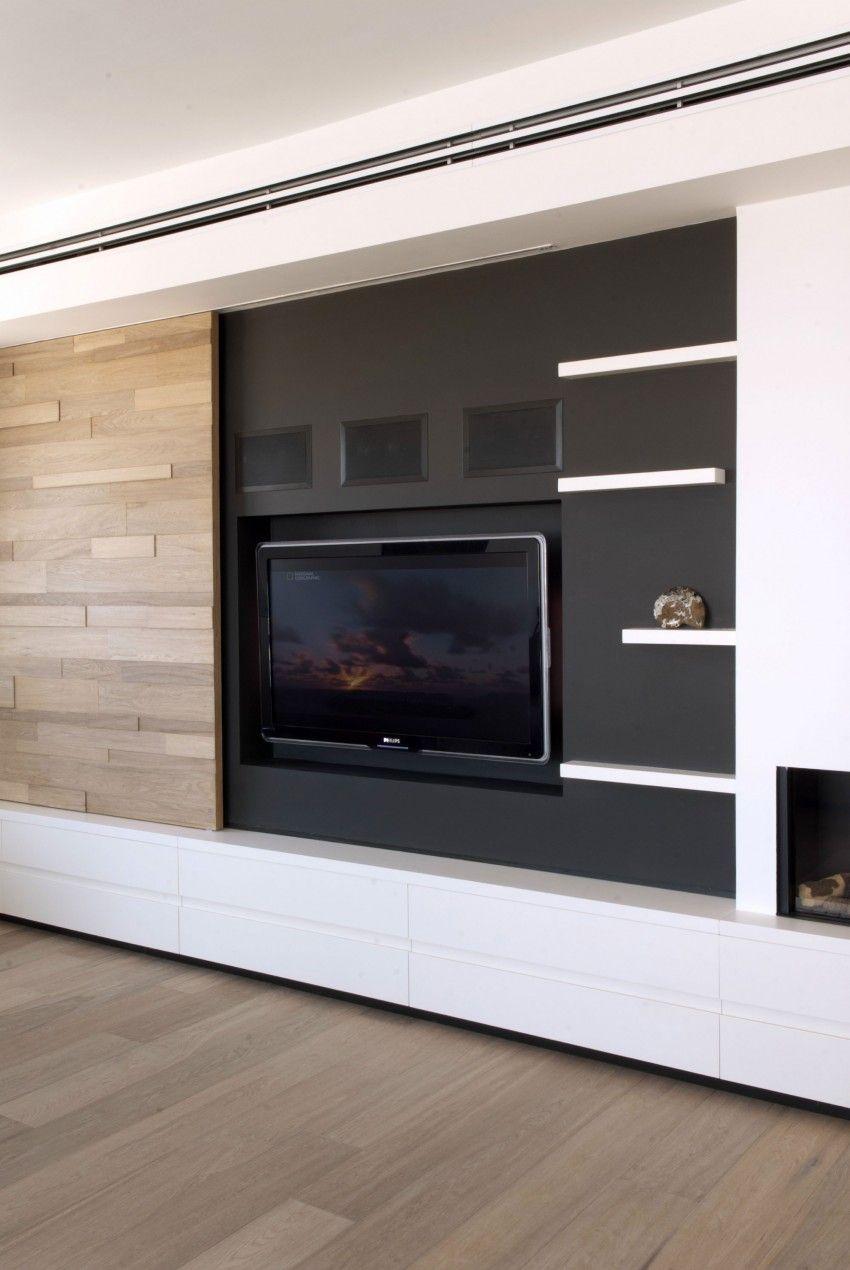 netanya penthouse 2 0 by dori interior design fernseher wohnzimmer und fernsehwand. Black Bedroom Furniture Sets. Home Design Ideas