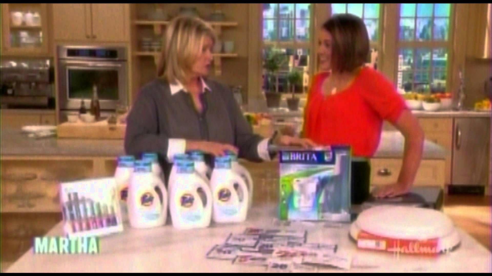 Martha Stewart 'The Money Show' with Krazy Coupon Lady