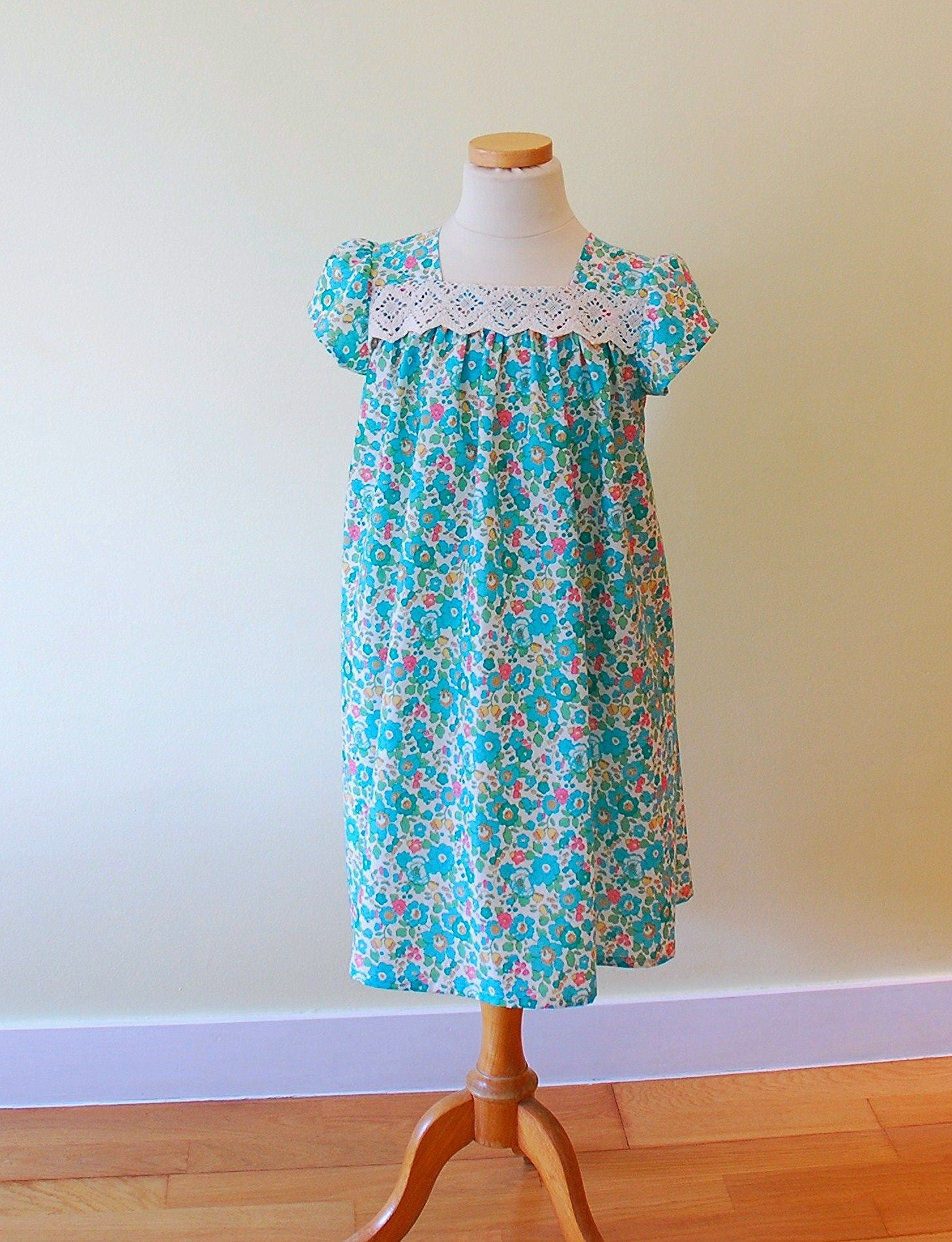 Easter dress (yes, really) | Liberty, Easter and Patterns