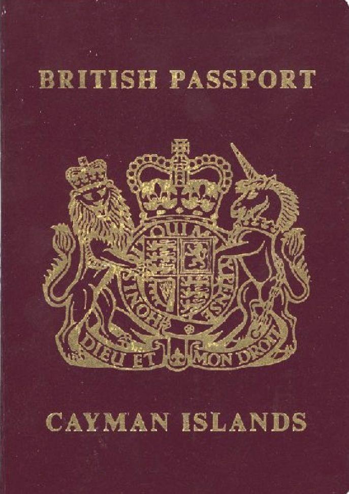Cayman Passport Jpg 687 972 Passaporte Britanico Passaporte
