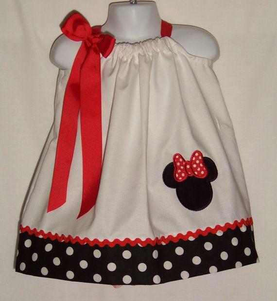 Minnie Mouse Pillowcase Dress / Stylish / by KarriesBoutique $29.95 & Minnie Mouse Pillowcase Dress / Stylish / by KarriesBoutique ... pillowsntoast.com