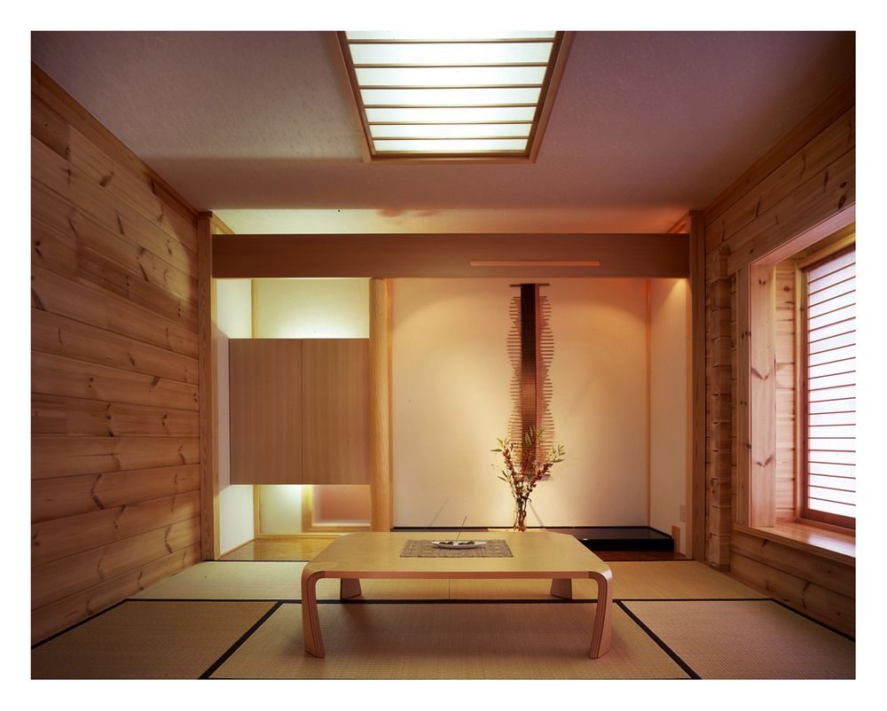 Tatami room by tad kanazaki tatami montreal pinterest for Japanese tatami room design