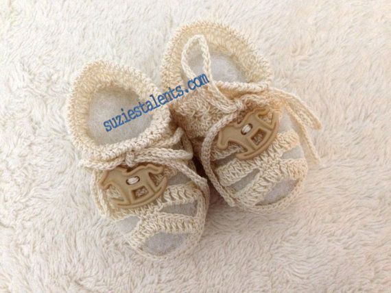 50 OFF  03 Months Baby Christening Shoes Baby Boy by SuziesTalents, $16.00