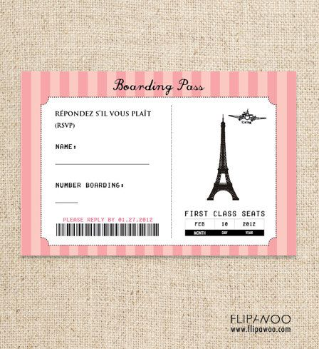 Free Paris Printables By Flipawoo Passport To Paris Collection Customized Printab Passport Invitations Passport Invitation Template Paris Invitations