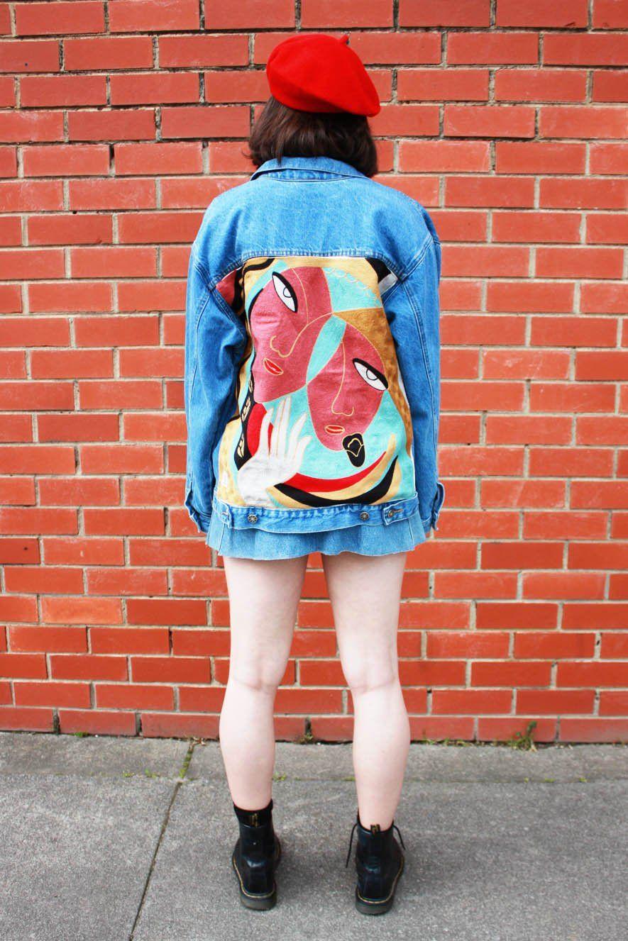 c7f83564bbc Picasso Femme Denim Jacket