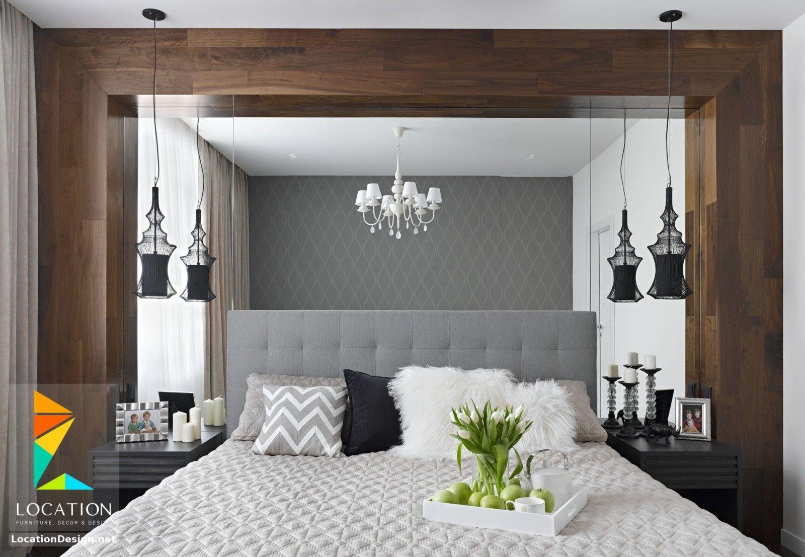 ديكورات غرف نوم صغيرة وبسيطة لوكشين ديزين نت Contemporary Bedroom Small Bedroom Decor Narrow Bedroom