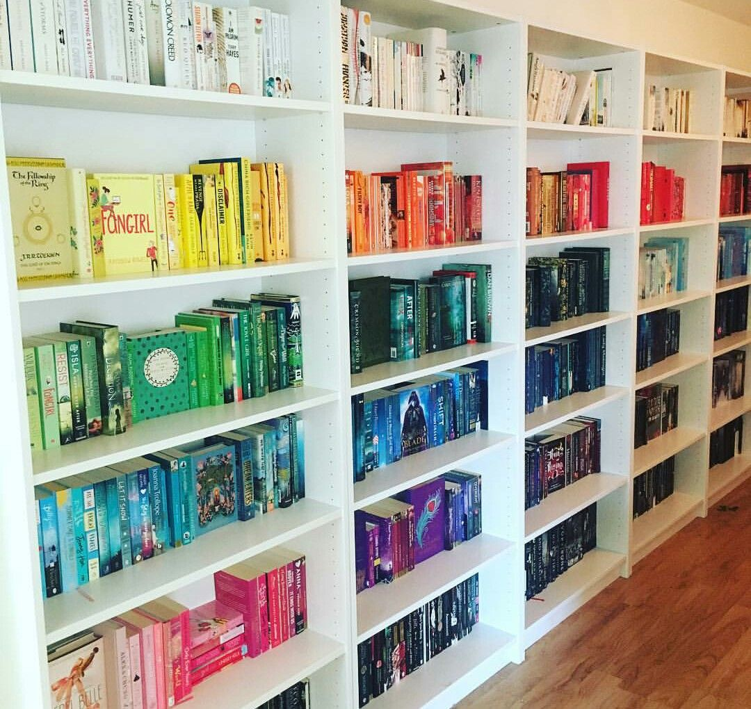 Rainbow #shelfie By Cosyreads