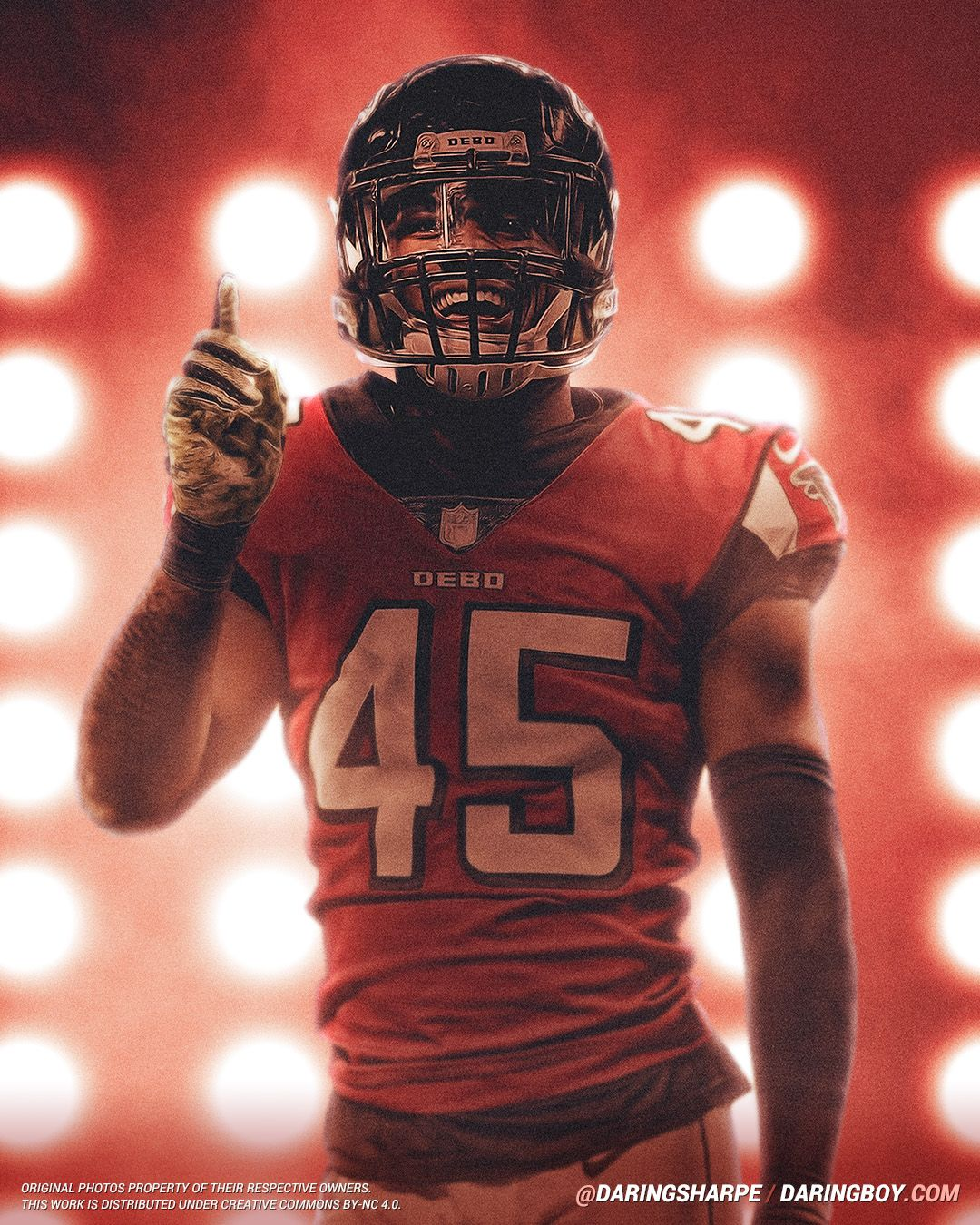 Deion Jones Atlanta Falcons Atlanta Falcons Atlanta Falcons Football Falcons