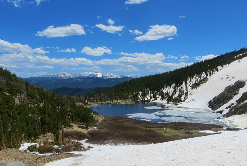 St Mary S Glacier Is A Hike With Stunning Views Of The Colorado Rocky Mountains A Beautiful Lake And Of Cou Hikes Near Denver Colorado Travel Idaho Springs