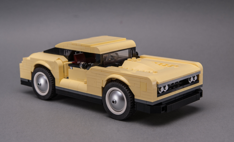 10271 Timeless Muscle Car Muscle Cars Lego Cars Car