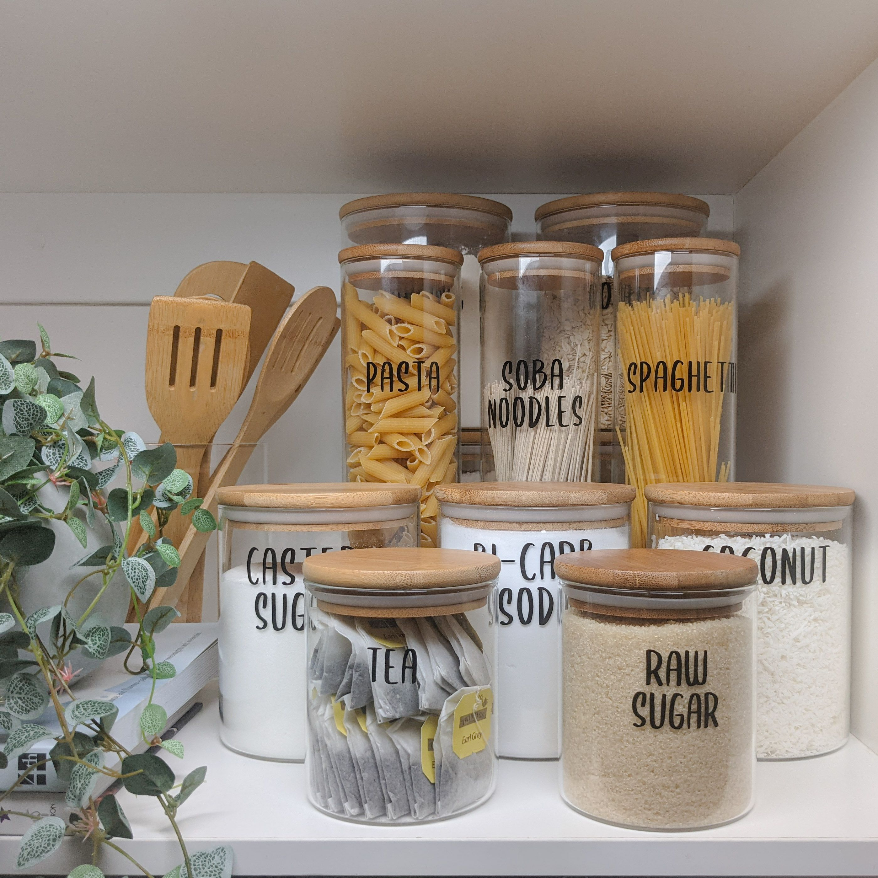 Pantry Storage Canisters