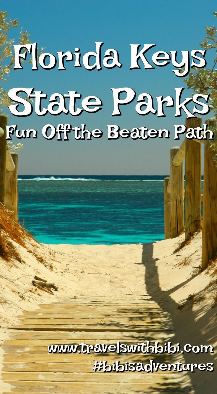 Head to the Florida Keys for some state park fun FIshing snorkeling nature walks with a park ranger and so much more are just a drive away so head to the Keys now Off the...
