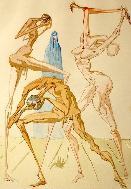 Salvador Dali Drawing 12 by mistca, via Flickr