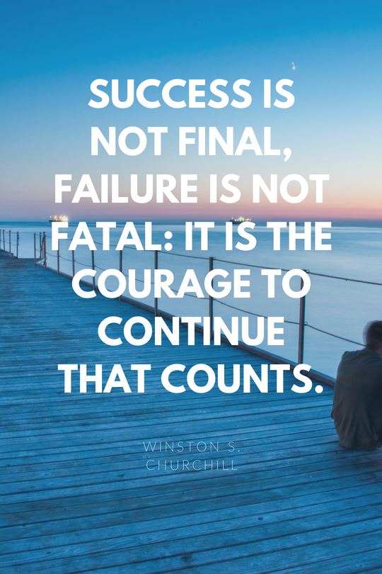 Love Quote Psoriasiszap Success Is Not Final Failure Is Not Fatal It Success Is Not Final Love Quotes Quote Posters