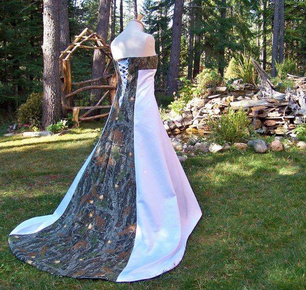 Elegant Camo Wedding Ideas: Pink Camo Wedding Dresses