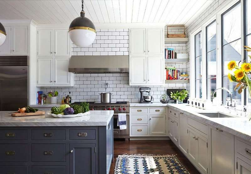 This kitchen is a picture perfect example of charm. It's filled with personality, not clutter, and h... - Bonadies Architect