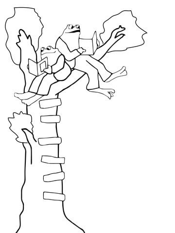 Frog And Toad Coloring Page Owl Coloring Pages Coloring Pages Frog And Toad