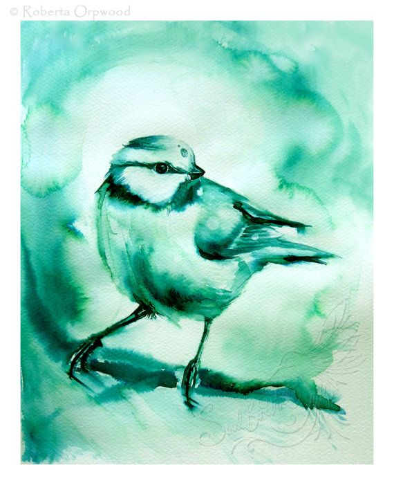 To have the blue tit fly into your life is a sign that loyal and ...