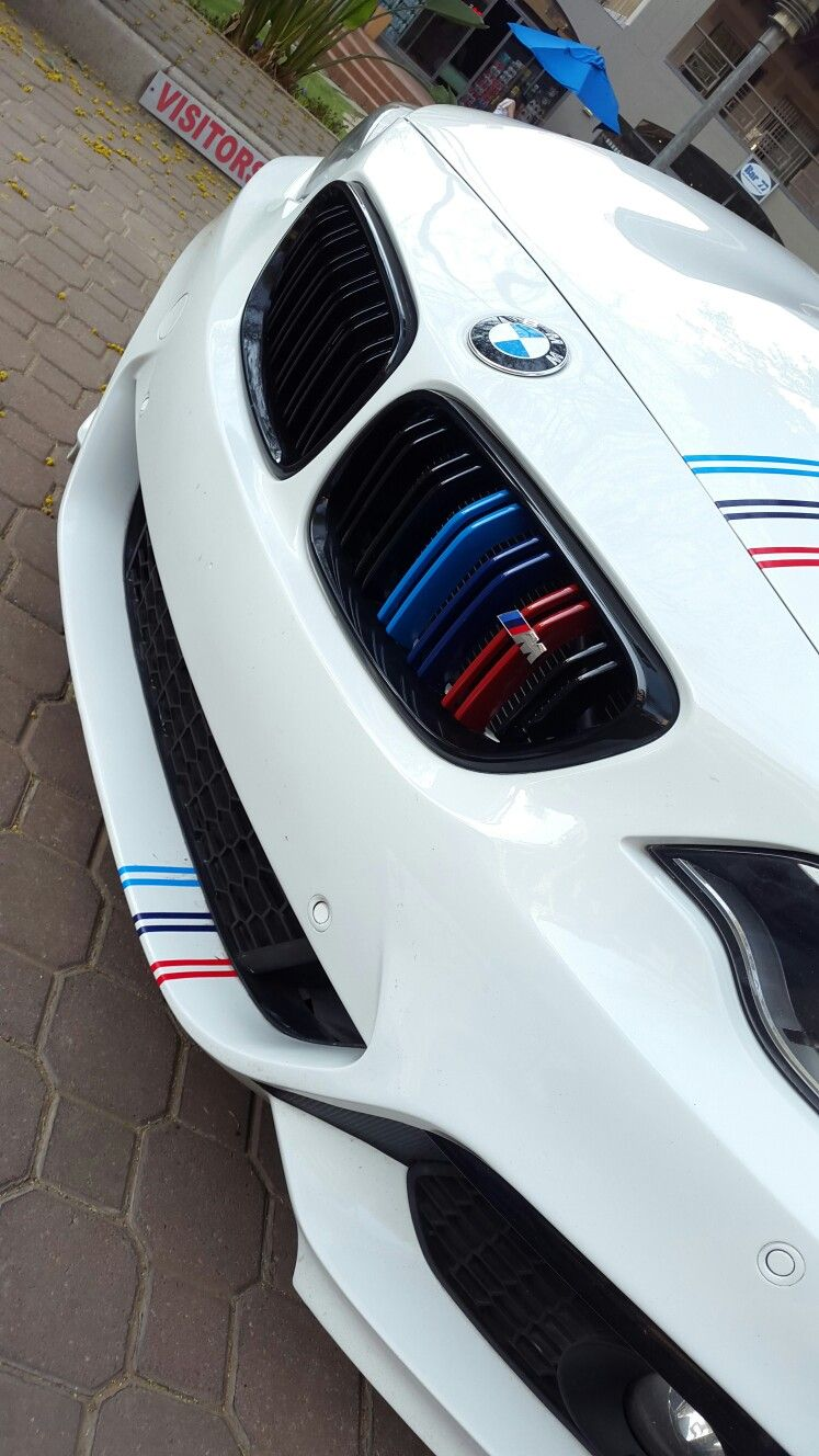 Bmw 2 Series 228i Grill With Double Sills M Badge M Stripes Coches