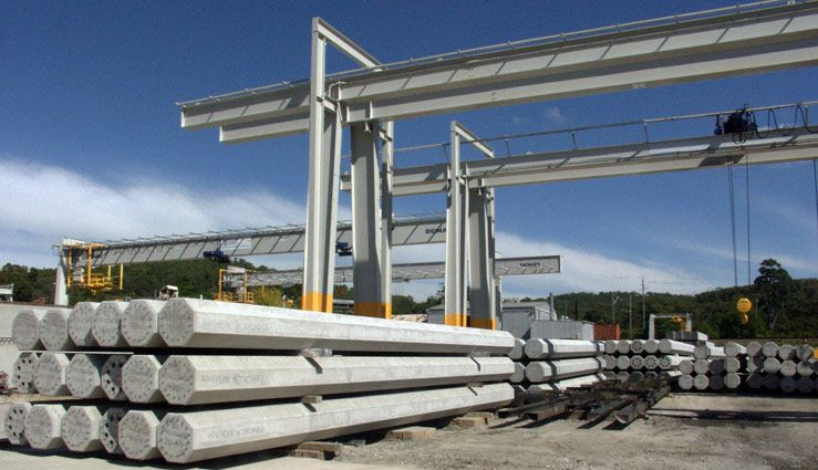 Steel large piles szukaj w google r ne pinterest for Concrete piling cost